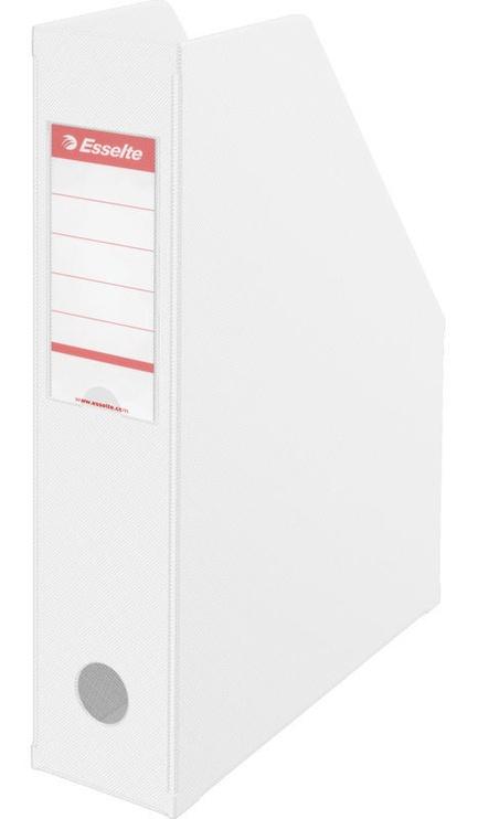 Esselte Vivida Magazine File Document Box White
