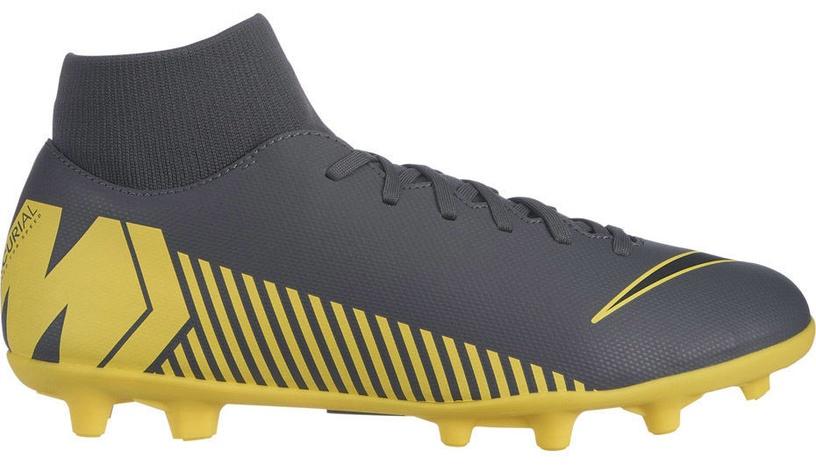 Nike Mercurial Superfly 6 Club MG AH7363 070 Gray/Yellow 43
