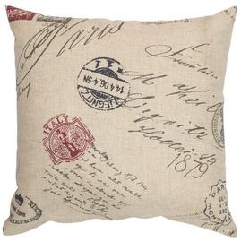 Home4you Home Pillow 45x45cm Postcard