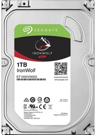 Seagate IronWolf NAS HDD 1TB 5900RPM SATA3 64MB ST1000VN002