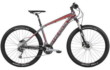 """Jalgratas Kross Level 5.0 M 29"""" Graphite Burgundy Red Matte 18"""