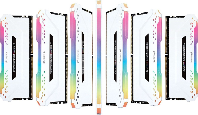 Corsair Vengeance RGB Pro White 32GB 3200MHZ CL16 DDR4 KIT OF 4 CMW32GX4M4C3200C16W