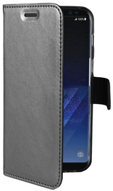 Celly Air Book Case For Samsung Galaxy S8 Plus Silver