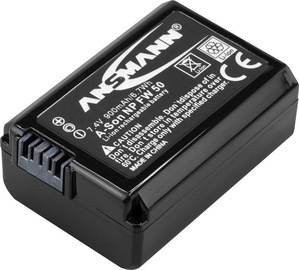 Ansmann A-Son NP Camera Battery FW 50 LI 7.4V/ 900mAh