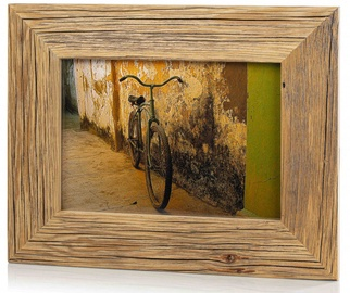 Bad Disain Photo Frame 21x30cm 138987 Brown