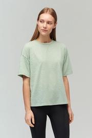 Audimas Light Dri Release T-Shirt Frosty Green S