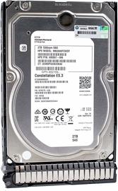 HP Enterprise 2TB 6G SAS 7.2K 3.5''