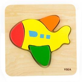 Viga Shape Block Puzzle Plane 50173