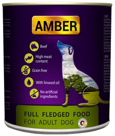 Amber Complete Food Adult Dogs Beef 800g