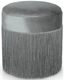 Пуф Homede Ushi, серый, 40x40x41 см