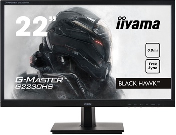 Монитор Iiyama G-Master G2230HS-B1, 21.5″, 0.8 ms