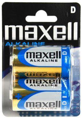 Maxell LR20 1.5V Alkaline MN1300 2pcs
