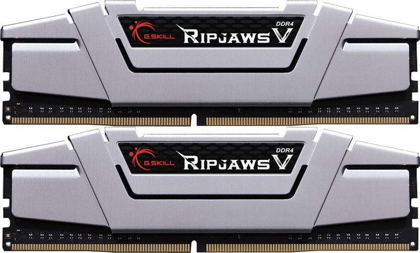G.SKILL RipJawsV Silver 16GB 2666MHz CL15 DDR4 KIT OF 2 F4-2666C15D-16GVS