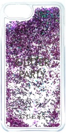 Guess Liquid Glitter Back Case For Apple iPhone 6/6s/7 Violet