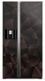 Hitachi R-M700VAGRU9X Refrigerator Glass Bronze