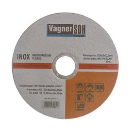 Lõikeketas Vagner 125x0.8x22.23mm, Inox