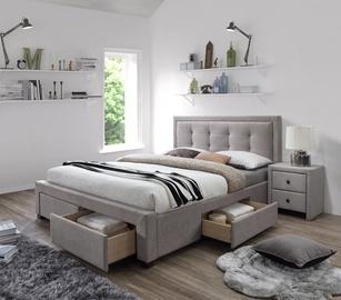 Кровать Halmar Evora Beige, 160 x 200 cm