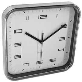 Asi Collection Wall Clock 25x25cm Silver