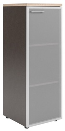 Skyland Xten Office Cabinet XMC 42.7 Right Tiara Beech/Legno Dark