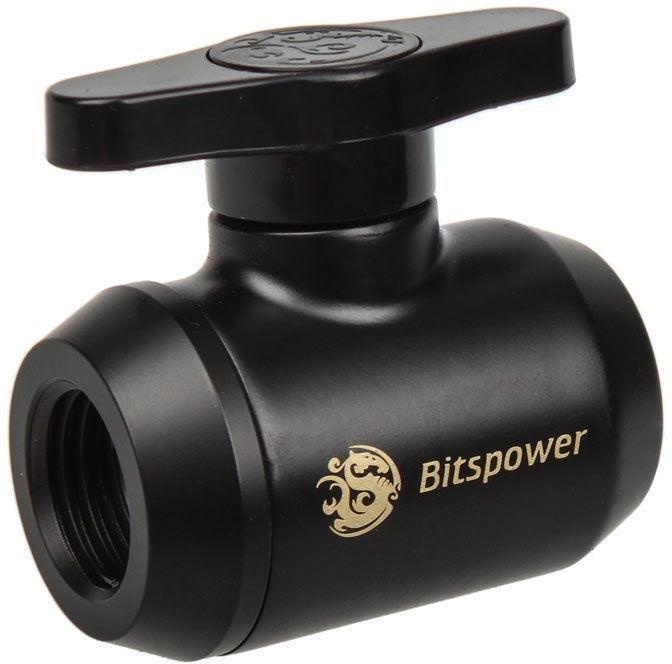BitsPower Stop Valve WASC-295 Black