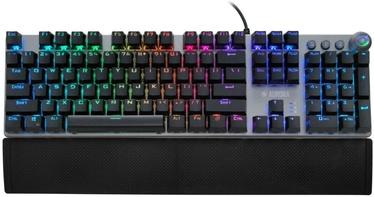 Mänguri klaviatuur iBOX Aurora K-4 Red EN