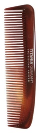 Titania Hair Comb Brown 12.5cm