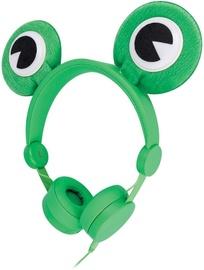 Kõrvaklapid Setty Froggy Green
