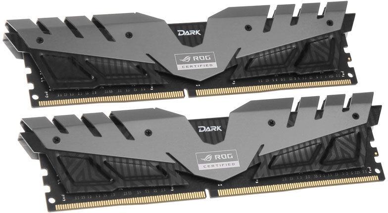 Team Group T-Force ROG Dark Grey 16GB 3000MHz CL16 DDR4 KIT OF 2 TDRGD416G3000HC16CDC01