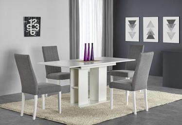 Обеденный стол Halmar Kornel White, 1300-1700x800x760 мм