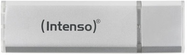 USB mälupulk Intenso Alu Line Silver, USB 2.0, 8 GB
