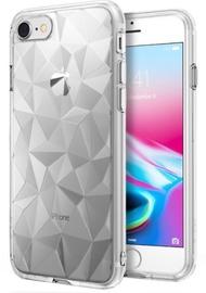 Blun 3D Prism Shape Back Case For Huawei Honor 9 Lite Transparent