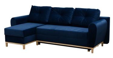 Угловой диван Idzczak Meble Provo Blue, 249 x 143 x 97 см