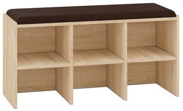 Шкаф для обуви ML Meble Orlando 05 Light Sonoma Oak, 960x340x510 мм