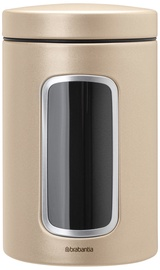 Brabantia Window Canister 1.4l Champagne
