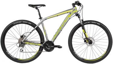 "Jalgratas Kross Level B2 XL 29"" Graphite Lime Black Matte 17"
