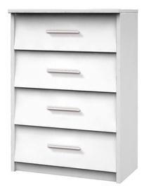 Шкаф для обуви Idzczak Meble 1 White, 600x360x860 мм