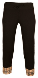 Bars Womens Sport Breeches Black/Beige 98 XL