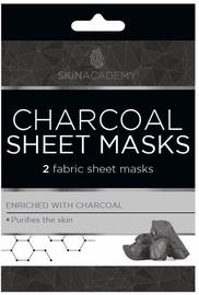 Skin Academy Charcoal Sheet Masks 2pcs