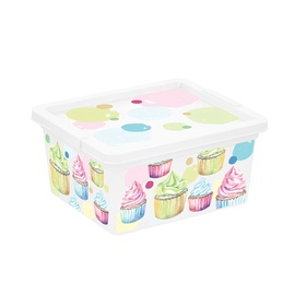 KIS C-Box Portobello Storage Box With Lid 2l