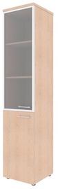 Skyland Xten Office Cabinet XHC 42.7 Left Tiara Beech