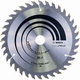Bosch 2608642602 Optiline Circular Saw Blade Wood 165x20mm