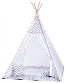 Woody 91420 Tent With Mat And Pillows For Kids Grey