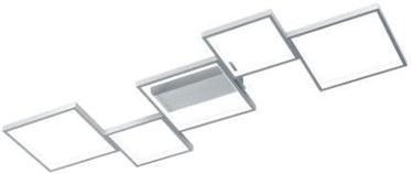 Trio Sorrento harjatud alumiiniumvärvi piklik 120cm laevalgusti 34W, 3400lm, 3000K, kolmeastmelise lüliti hämardamise funktsioon