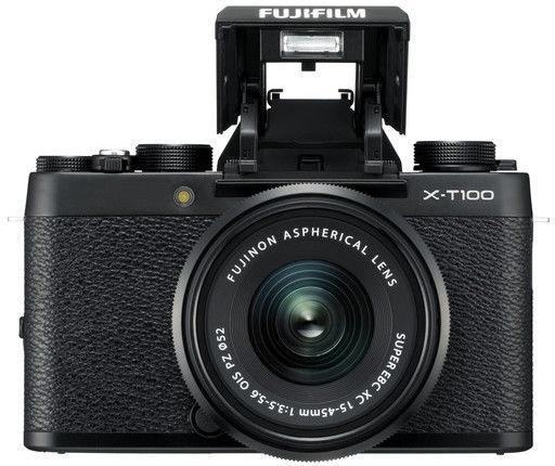 Fujifilm X-T100 + XC 15-45mm/f3.5-5.6 OIS PZ Black