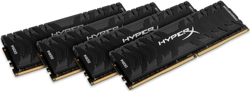 Kingston 16GB 3200MHz DDR4 CL16 HyperX Predator KIT OF 4 HX432C16PB3K4/16