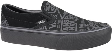 Vans 66 Classic Slip On Platform Shoes VN0A3JEZWW0 Black 36