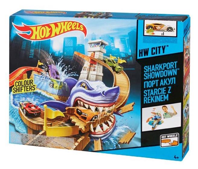 Autorada Hot Wheels Sharkpoint Showdown BGK04