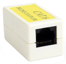 Gembird Coupler Cat 6 LAN White