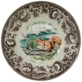 Claytan Haydon Grove Squirrel Deep Plate 23.3cm