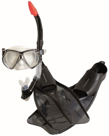 Rucanor Insula Snorkel Set Black